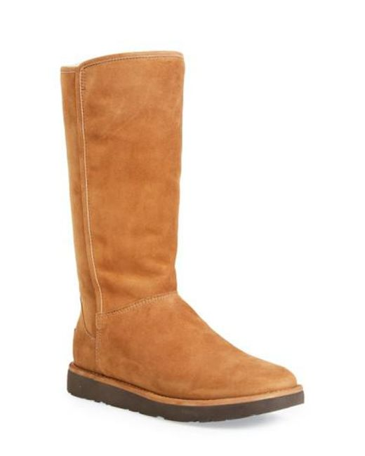 Ugg - Brown Ugg Abree Ii Tall Boot - Lyst