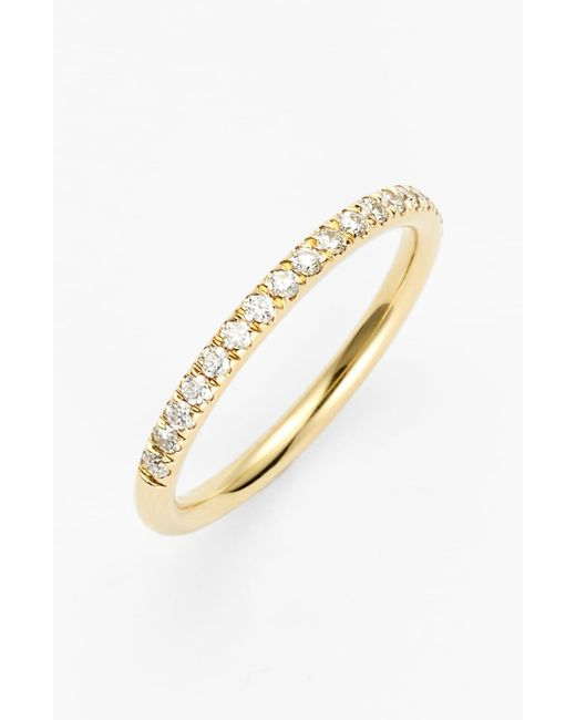 Bony Levy Metallic Stackable Large Straight Diamond Band Ring (nordstrom Exclusive)