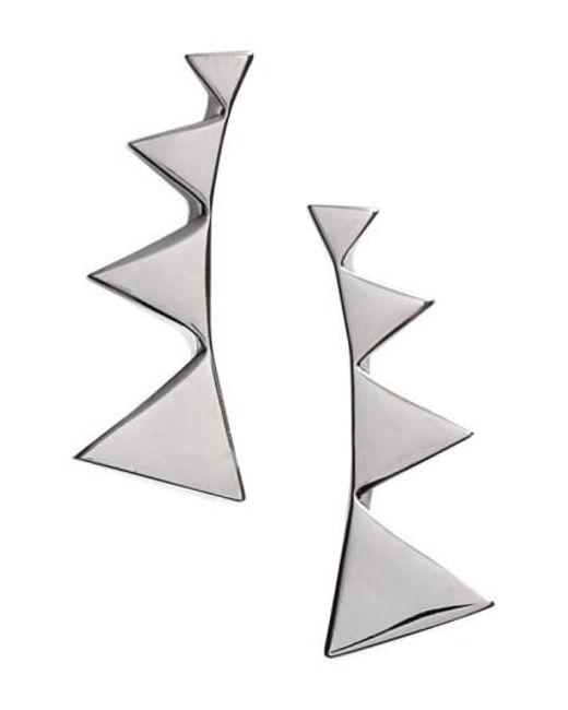 Nadri | Black Triangle Ear Crawlers | Lyst
