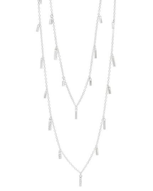 Freida Rothman - Metallic Radiance Multistrand Necklace - Lyst
