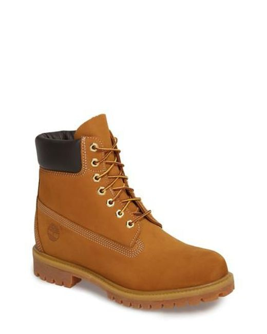 Timberland - Brown 'six Inch Classic Boots Series - Premium' Boot for Men - Lyst