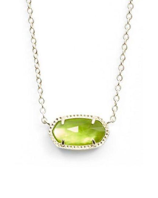 Kendra Scott | Multicolor Elisa Birthstone Pendant Necklace | Lyst