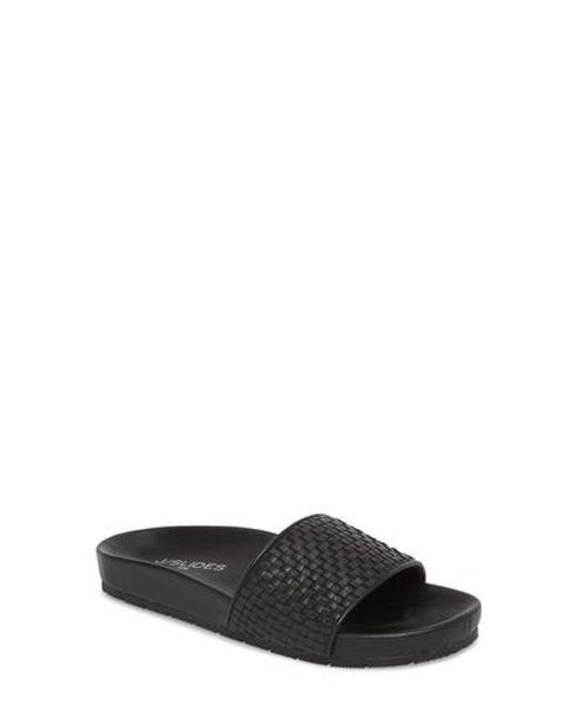 J/Slides - Black Naomie Slide Sandal - Lyst