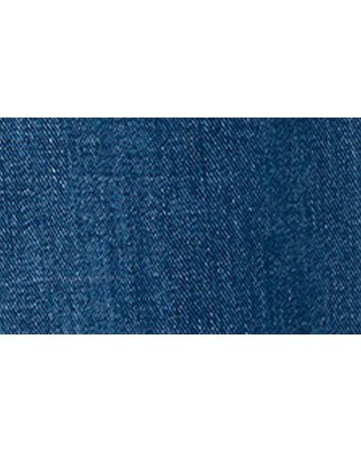 a1a7c5977 ... Madewell - Blue Rainbow Stitched Emmett Wide Leg Crop Jeans - Lyst