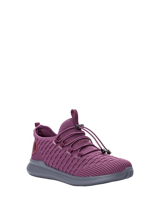 Propet Purple Travelbound Stretch Sneaker