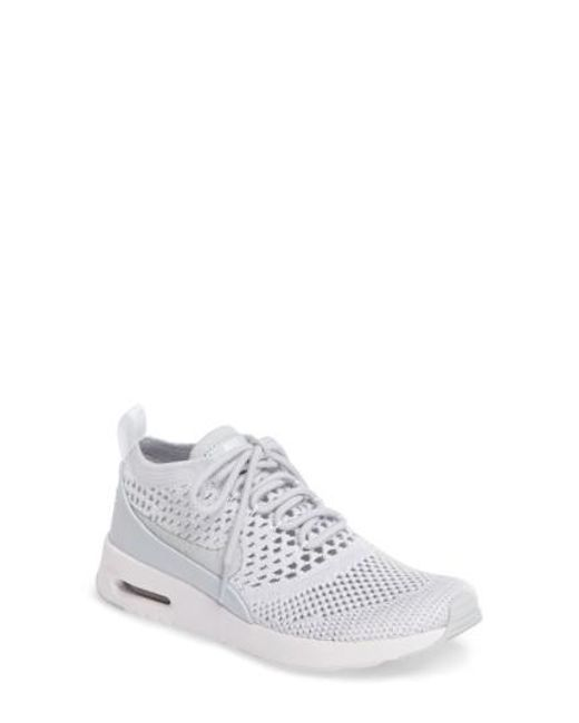 Nike | White Air Max Thea Ultra Flyknit Sneaker | Lyst