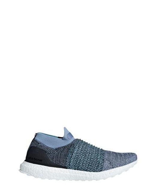 2ac21f4db20 ... sweden adidas blue ultraboost laceless running shoe for men lyst 095b9  12534