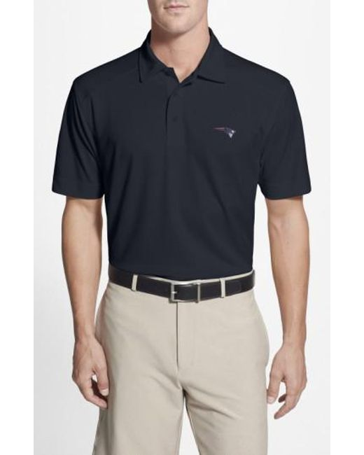 Cutter & Buck - Blue 'New England Patriots - Genre' Drytec Moisture Wicking Polo for Men - Lyst