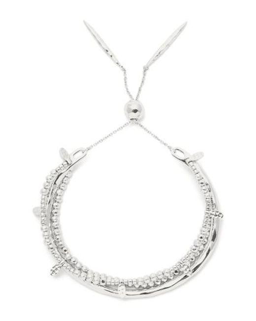 Gorjana | Metallic Leucadia Beaded Bracelet | Lyst