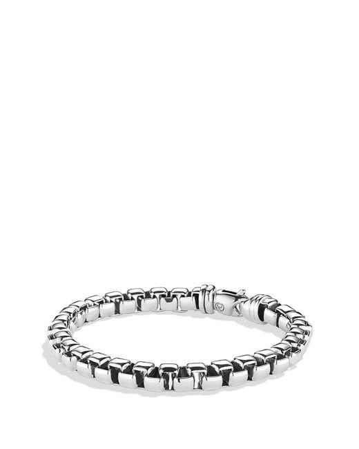 David Yurman - Metallic Extra-large Box Chain Bracelet - Lyst