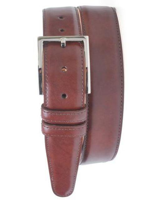Martin Dingman | Brown 'samuel' Leather Belt for Men | Lyst