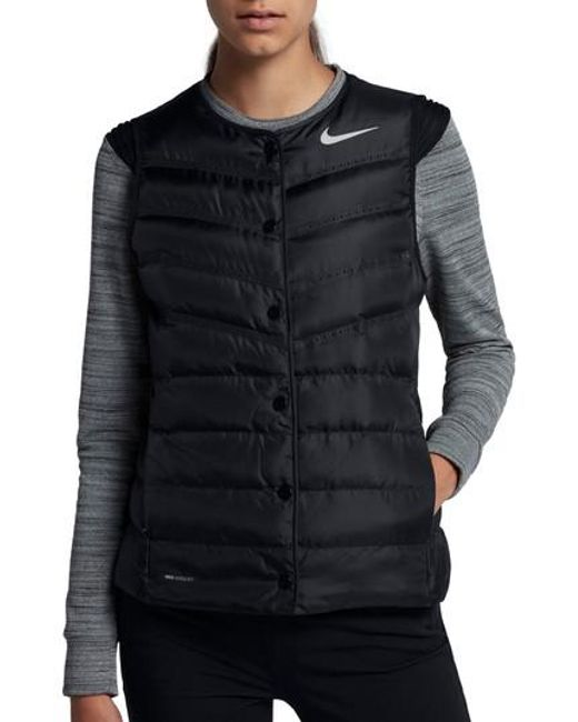 Nike | Black Aeroloft Water Repellent Running Vest | Lyst