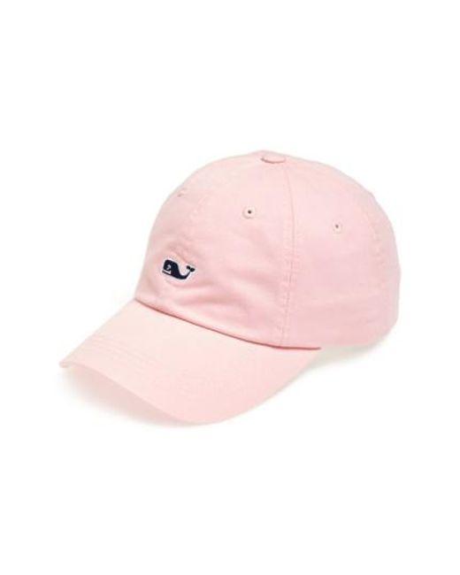 Vineyard Vines | Pink Whale Logo Cap for Men | Lyst