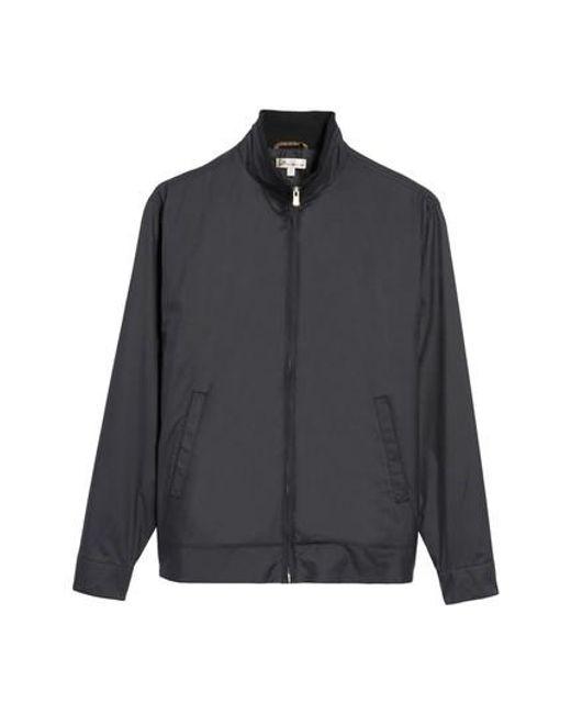 Peter Millar - Black Zip Jacket for Men - Lyst