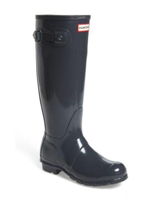 Hunter   Multicolor Original High Gloss Boot   Lyst