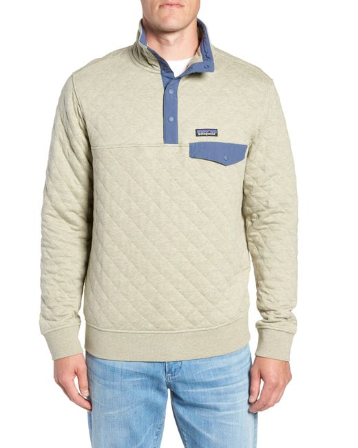 Patagonia Snap-t Quilted Fleece Pullover For Men