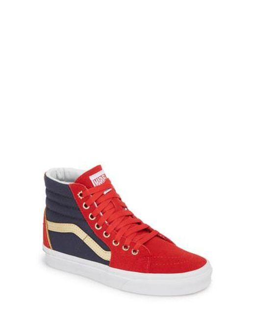 Vans Women's X Marvel Ua Sk8-Hi Sneaker RJGRJ