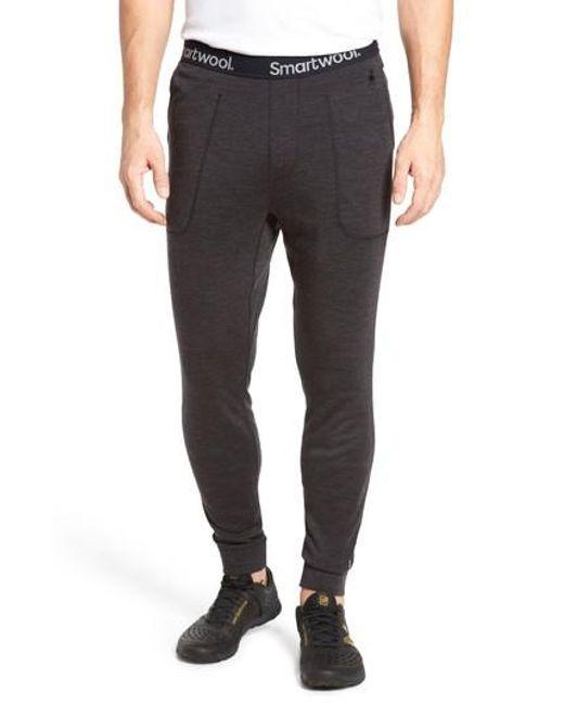 Smartwool - Gray 250 Merino Wool Jogger Pants for Men - Lyst