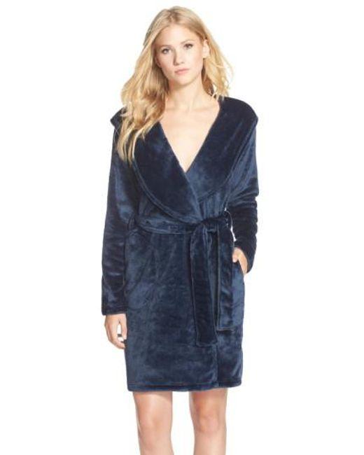 Ugg | Blue 'miranda' Robe | Lyst
