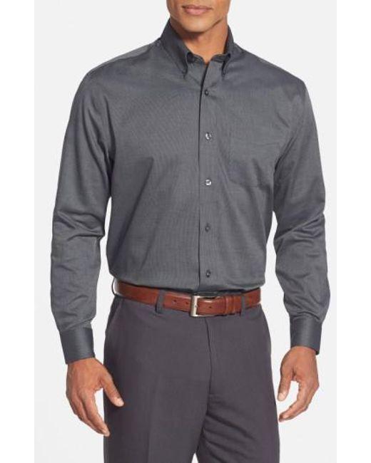 Cutter & Buck   Black 'nailshead' Classic Fit Sport Shirt for Men   Lyst