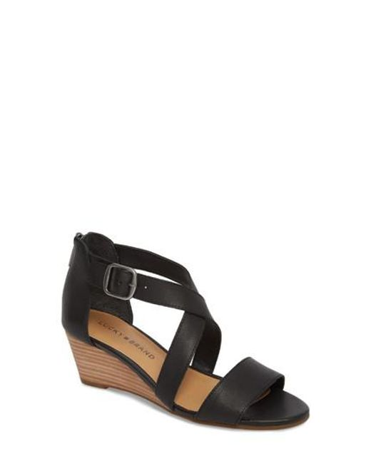 Lucky Brand Women's Jestah Wedge Sandal P3wwyn