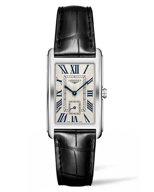 Longines - Multicolor Dolcevita Leather Strap Watch - Lyst