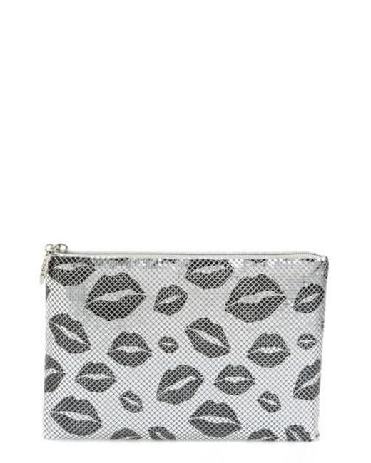 Whiting & Davis - Kisses Metallic Clutch - Metallic - Lyst