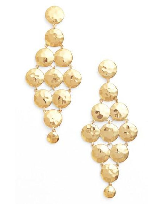Gorjana   Metallic Gypset Tiered Drop Earrings   Lyst