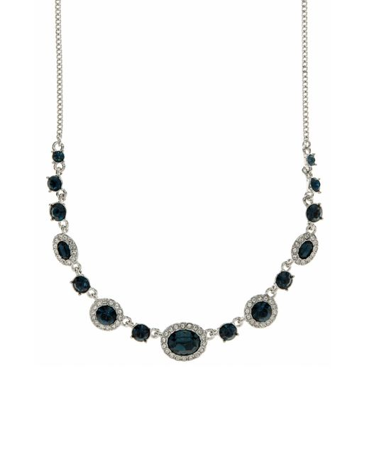 Givenchy - Multicolor Crsytal Frontal Necklace - Lyst