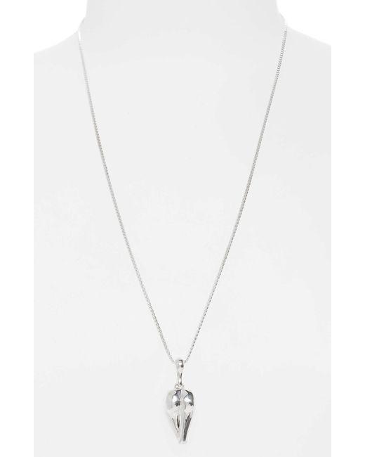 Faris - Metallic Derriere Necklace - Lyst