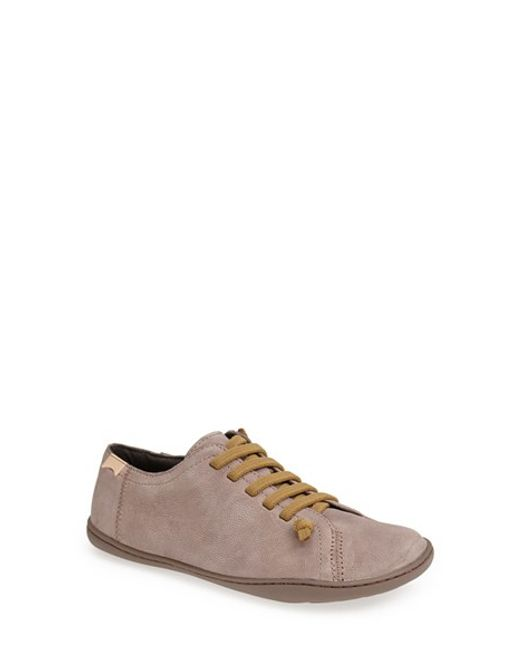 Camper | Gray 'peu Cami' Leather Sneaker | Lyst