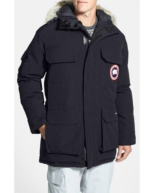 Canada Goose | Gray 'expedition' Relaxed Fit Down Parka for Men | Lyst