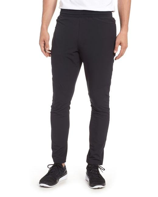 Under Armour - Black Tapered Slim Fit Woven Training Pants for Men - Lyst