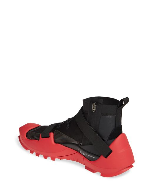 Men's Black And Red Mmw Edition Free Tr 3 Sp Sneakers