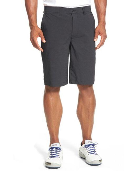 Travis Mathew | Black 'hefner' Stretch Golf Shorts for Men | Lyst