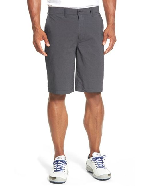 Travis Mathew | Gray 'hefner' Stretch Golf Shorts for Men | Lyst