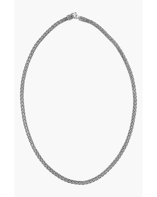 John Hardy - Metallic 'classic Chain' Slim Necklace - Lyst