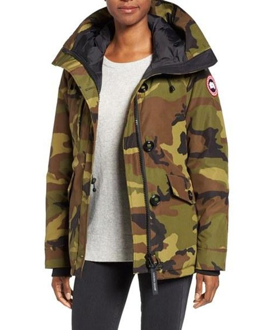 Canada Goose | Red 'rideau' Slim Fit Down Parka | Lyst
