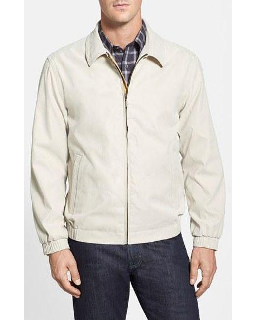 Rainforest | White 'microseta' Lightweight Golf Jacket for Men | Lyst
