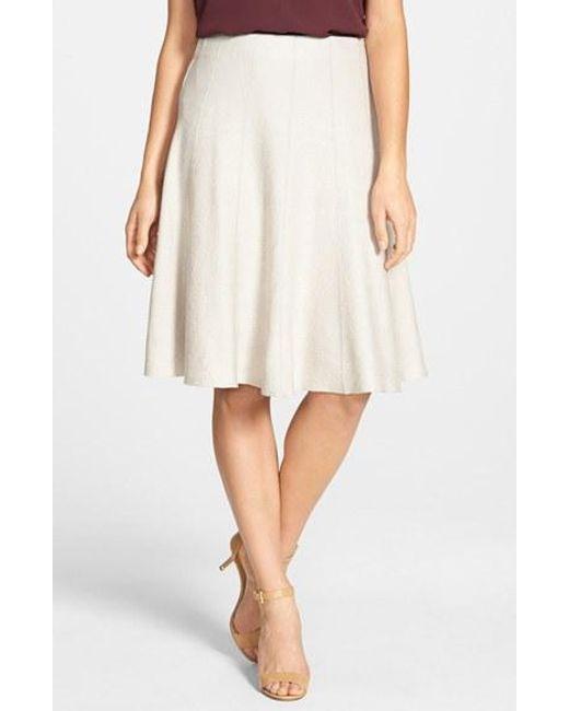 NIC+ZOE   Metallic Panel Twirl Skirt   Lyst