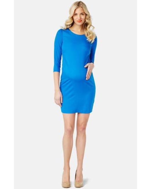 Rosie Pope   Blue 'sloane' Maternity Dress   Lyst