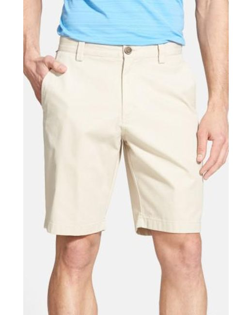 Cutter & Buck | Natural 'beckett' Shorts for Men | Lyst