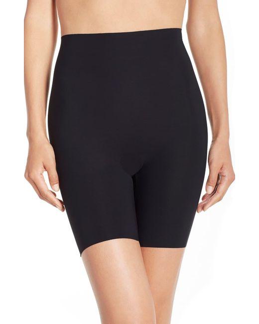 Commando Black Control High Waist Shaping Shorts