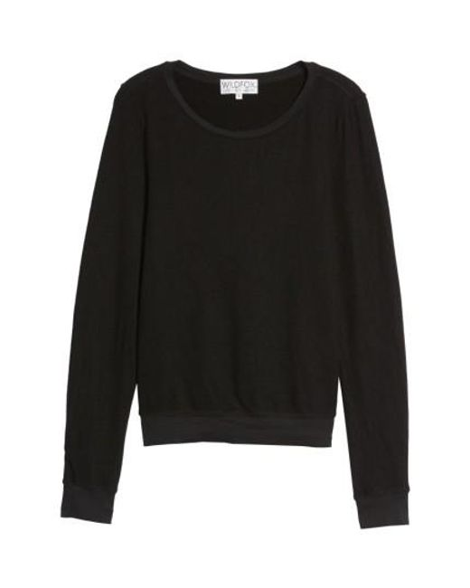 Wildfox | Black 'baggy Beach Jumper' Pullover | Lyst