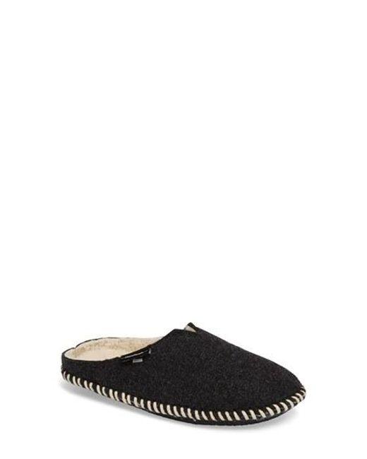 Woolrich | Black Felt Mill Scuff Slippers | Lyst