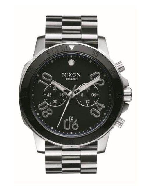 Nixon | Metallic 'ranger' Chronograph Bracelet Watch for Men | Lyst