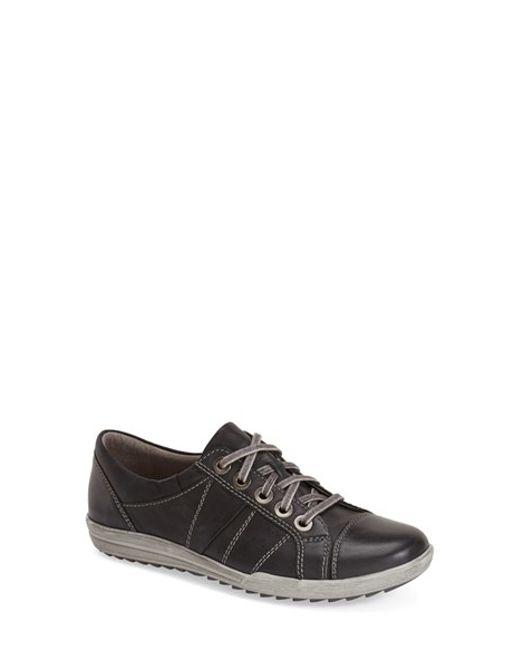Josef Seibel   Brown 'dany 05' Leather Sneaker   Lyst