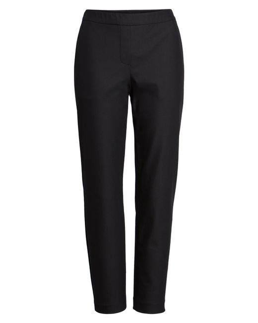 Theory Black 'thaniel' Trousers