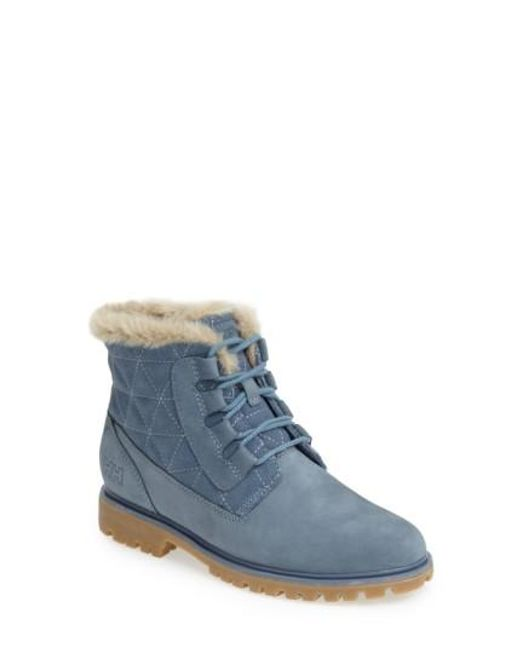 Helly Hansen | Blue 'vega' Waterproof Leather Boot | Lyst
