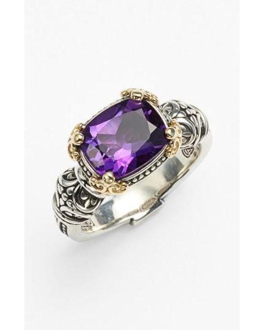 Konstantino | Metallic Hermione Stone Ring | Lyst